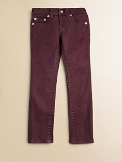 True Religion - Girl's Casey Ultra-Skinny Glitter Leggings
