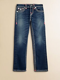 True Religion - Girl's Julie Super T Jeans