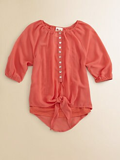 Kiddo - Girl's Peasant Blouse