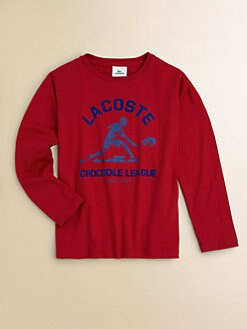 Lacoste - Boy's Long-Sleeved Tennis Tee