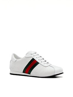 Gucci - Infant's, Toddler's & Kid's Icon GG Lace-Up Sneakers