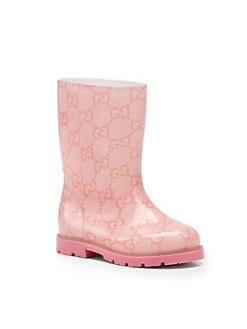 Gucci - Infant's, Toddler's & Kid's Edimburg GG Rain Boots