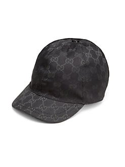 Gucci - Kid's Logo Print Baseball Cap