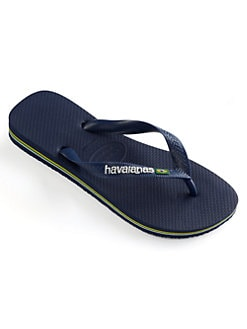 Havaianas - Toddler's & Kid's Brasil Logo Flip Flops