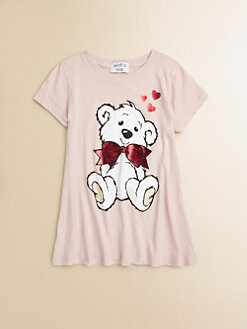 Wildfox Kids - Girl's Teddy Bear Tee