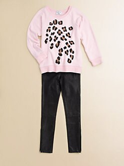 Wildfox Kids - Girl's Baggy Beach Spotted Sweatshirt