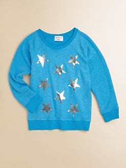 Wildfox Kids - Girl's Baggy Beach Star Sweatshirt