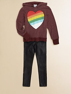 Wildfox Kids - Girl's Rainbow Bright Hoodie