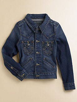 True Religion - Boy's Johnny Classic Denim Jacket