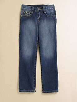 True Religion - Boy's Jack Classic Slim-Fit Jeans