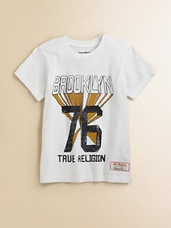 True Religion - Boy's Brooklyn Tee