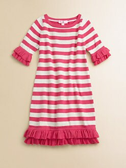 Lilly Pulitzer Kids - Girl's Helena Striped Sweater Dress