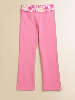 Lilly Pulitzer Kids - Girl's Zoe Floral-Waist Pants