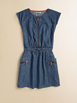 DKNY - Girl's Chambray Dress