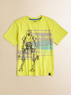 DKNY - Boy's Droid Graphic Tee
