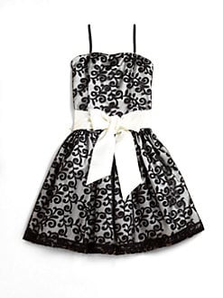 Un Deux Trois - Girl's Lacy Party Dress