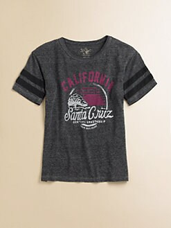 True Religion - Girl's Santa Cruz Cotton Tee