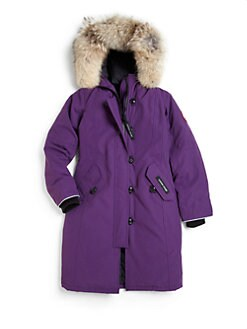 Canada GOOSE Black Down Padded 'Lynx Parka' Jacket 2-3 year