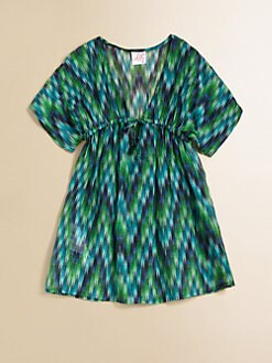 Milly Minis - Girl's Zig-Zag Coverup