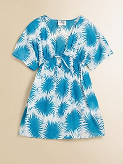 Milly Minis - Girl's Aster Print Coverup