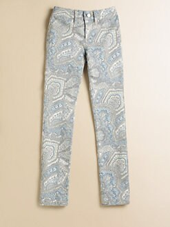Joe's - Girl's Paisley-Print Denim Leggings