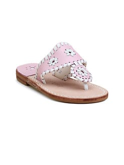 Jack Rogers - Little Girl's & Girl's Miss Navajo Palm Beach Sandals