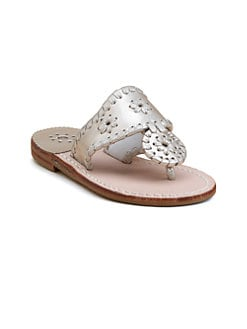 Jack Rogers - Little Girl's & Girl's Navajo Hamptons Sandals