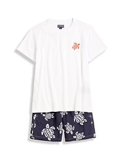 Vilebrequin - Boy's Cotton Turtle Tee