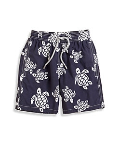 Vilebrequin - Boy's Classic Turtle Swim Trunks