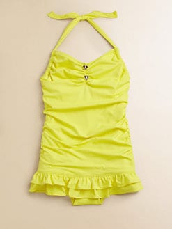 Juicy Couture - Girl's Little Miss Divine Swimdress
