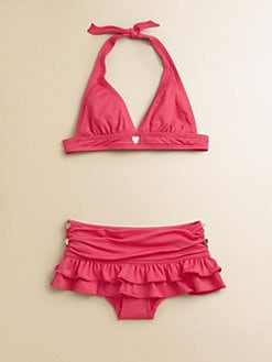 Juicy Couture - Girl's Little Miss Divine Bikini