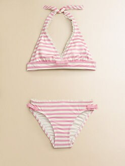 Juicy Couture - Girl's Petit Stripe Bikini