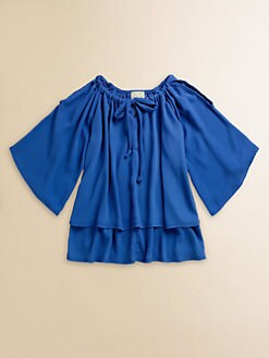 Kiddo - Girl's Chiffon Tie Blouse