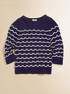 Milly Minis - Girl's Sailor Stitch Sweater