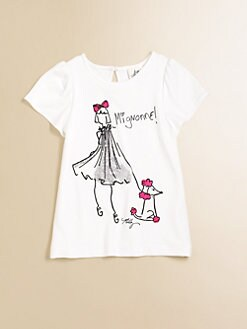 Milly Minis - Girl's Flutter Tee