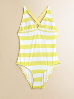 Splendid - Girl's Circus Striped One-Piece Swimsuit