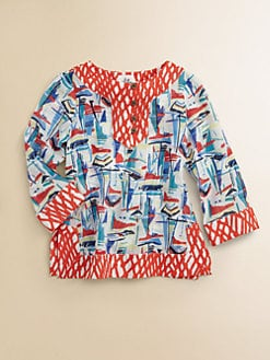 Milly Minis - Girl's Sailboats Tunic