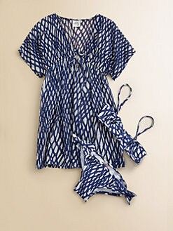 Milly Minis - Girl's Rope Print Coverup