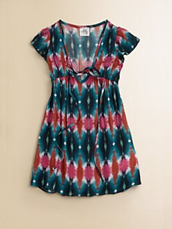 Milly Minis - Girl's Tie-Dyed Coverup