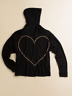 Flowers by Zoe - Girl's Heart Hoodie