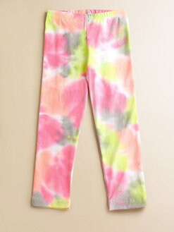 Flowers by Zoe - Girl's Tie-Dye Leggings