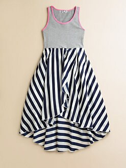 Flowers by Zoe - Girl's Stripe Dress