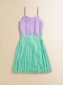 Flowers by Zoe - Girl's Pleated Dress