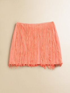 Flowers by Zoe - Girl's Fringe Skirt