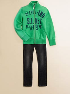 Diesel - Boy's Zip Sweatshirt