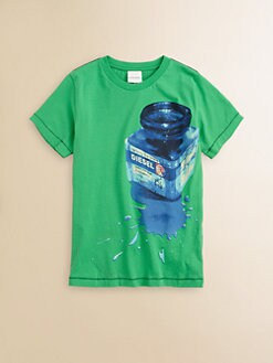 Diesel - Boy's Ink Bottle Tee