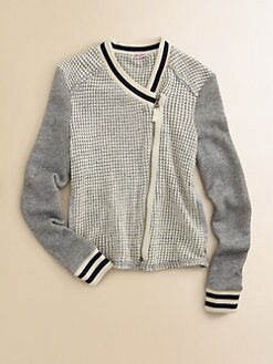 Splendid - Girl's Textured Sweater Jacket