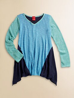 Ella Girl - Girl's Coloblocked Harper Tunic