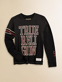 True Religion - Boy's Logo Tee