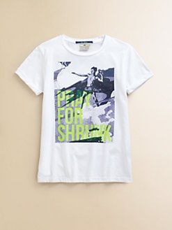 Scotch Shrunk - Boy's Surf-Motif Tee